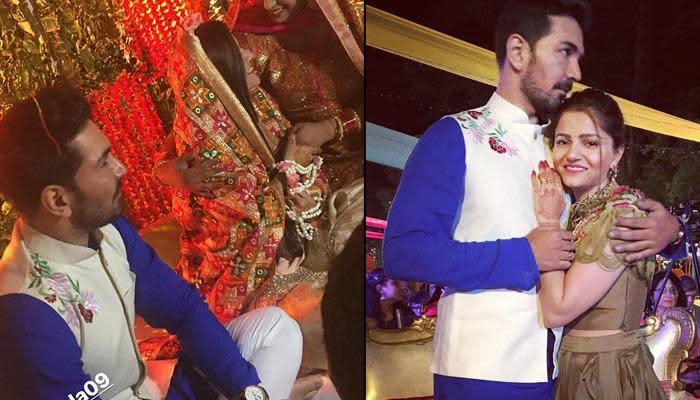 Rubina Dilaik And Abhinav Shukla's Ring Ceremony, Pics And Videos Of
