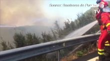 Huge blazes continue on Canary Islands