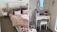 Kmart mum's epic bedroom makeover stuns