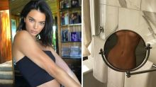 Kendall Jenner shares sneaky topless snap
