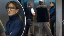 Felicity Huffman seen for first time since armed FBI arrest