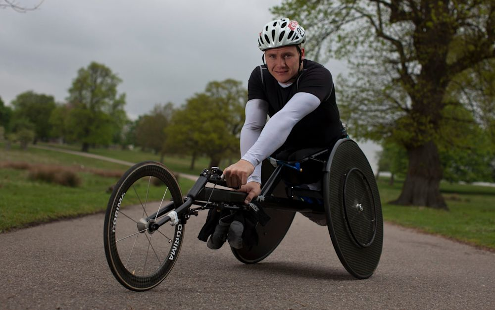 David Weir is preparing for his 18th successive London Marathon - Heathcliff O'Malley