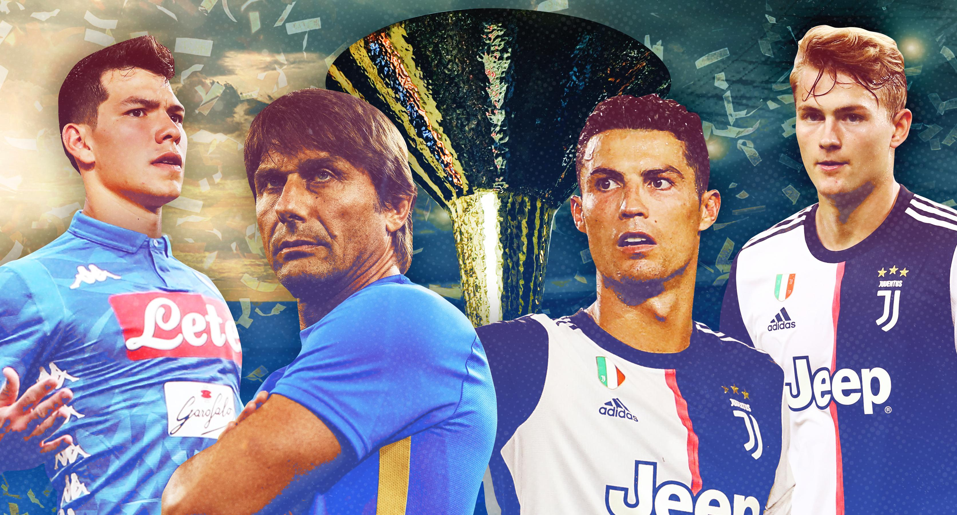 Serie A Preview Ronaldo Juventus Strong But So Are Others