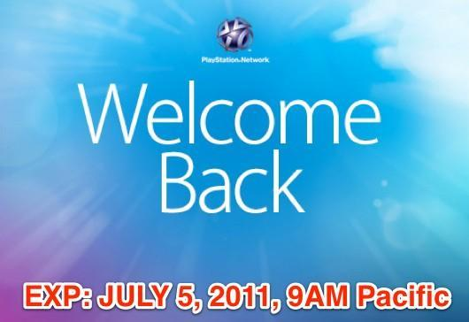 Sony PSN 'Welcome Back' promotion extended... for one more day
