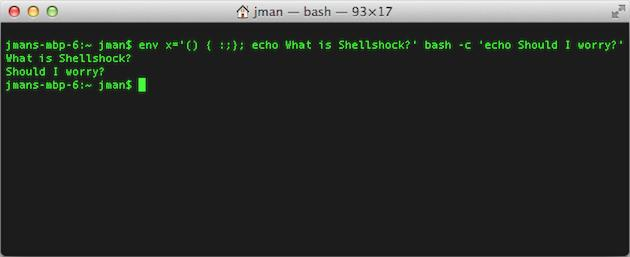 What is the Shellshock Bash bug and why does it matter?
