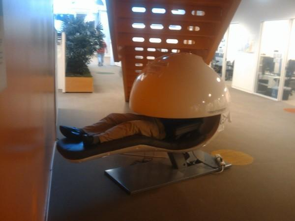 Another reason to want a job at Google: insane napping pods