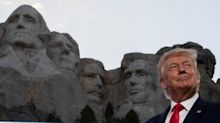 White House 'looked into' carving face of Donald Trump on Mt Rushmore