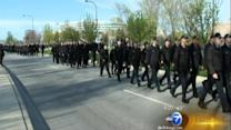 St. Jude Police Memorial March draws thousands honoring fallen officers