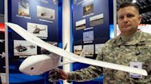 Military drone maker's shares jump more than 20% after it announces booming sales