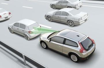 """Volvo's """"City Safety"""" detects collisions, can steer out of the way"""