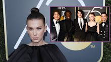 Golden Globes 2018: Has Millie Bobby Brown fallen out with her Stranger Things cast mates?