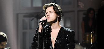 Harry Styles bares it all in upcoming album artwork