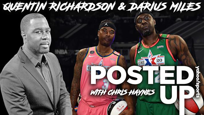 Posted Up - Quentin Richardson & Darius Miles on how athletes deal with the media