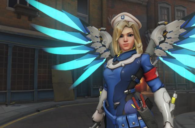 'Overwatch' update downgrades Mercy, adds 4K on Xbox One X