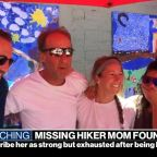 Missing hiker found alive