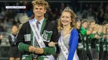 Student crowned Homecoming Queen two years after being shot in the head, left for dead