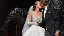 Try Not To Be Blinded By This Swarovski Heiress' Stunning Bridal Gown