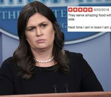 Restaurant bombarded with Yelp reviews after refusing to serve Sarah Huckabee Sanders