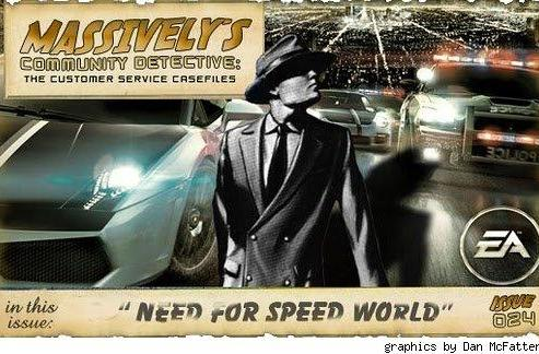 Community Detective Issue #24: Need for Speed World