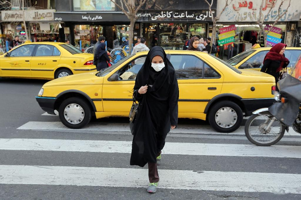 Iran's health ministry estimates that pollution contributes to several thousand premature deaths (AFP Photo/Atta Kenare)
