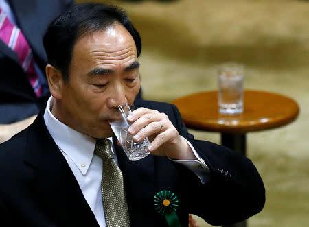 Yasunori Kagoike, head of Moritomo Gakuen, attends a parliamentary session in Tokyo, Japan March 23, 2017. REUTERS/Issei Kato