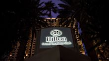 Hilton Jumps as Street Cheers `Healthy' Results, New Outlook