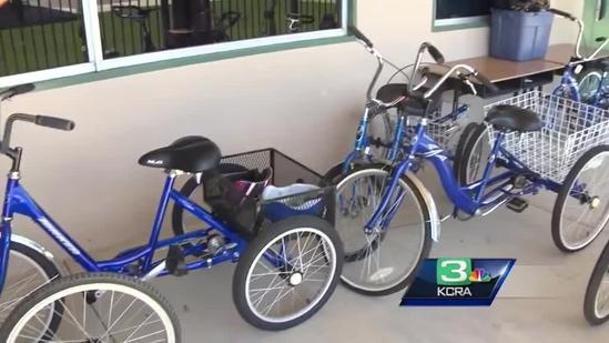 Trike theft suspect pleads not guilty