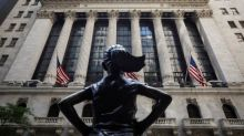 Wall Street finishes up as stimulus talks continue