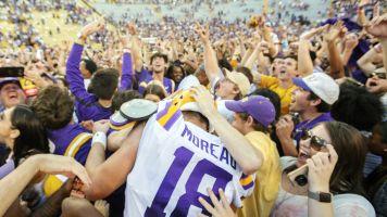 LSU fined $100K for fans storming field