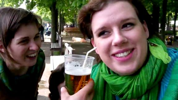 Drinking Beer Through Your Ear