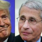 'I think you can trust me': Fauci stands firm as Trump works to undermine him