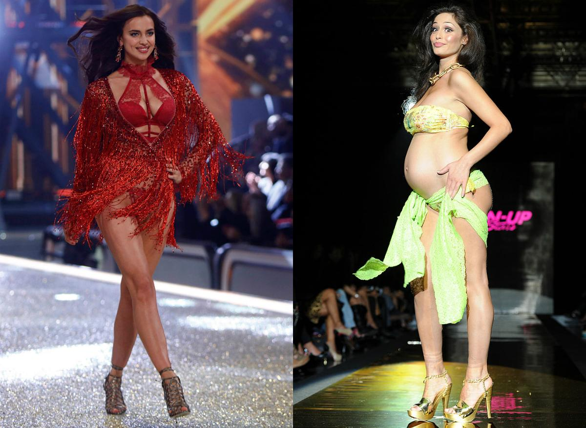 Photos: Top models who rocked the runway while pregnant
