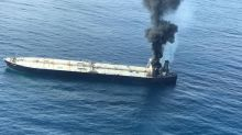 1 missing, 1 injured in fire on oil tanker near Sri Lanka