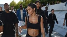 Kanye West's Muse, Teyana Taylor, Shows Off Her Amazing Abs in Yeezy Season 4 Fashion Show
