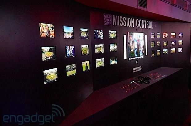 Breakfast NY's Mission Control Center merges MLB info with NASA-flair, uses 20 feet of switches and screens