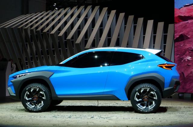 Subaru unveils its outdoorsy Viziv Adrenaline hybrid concept