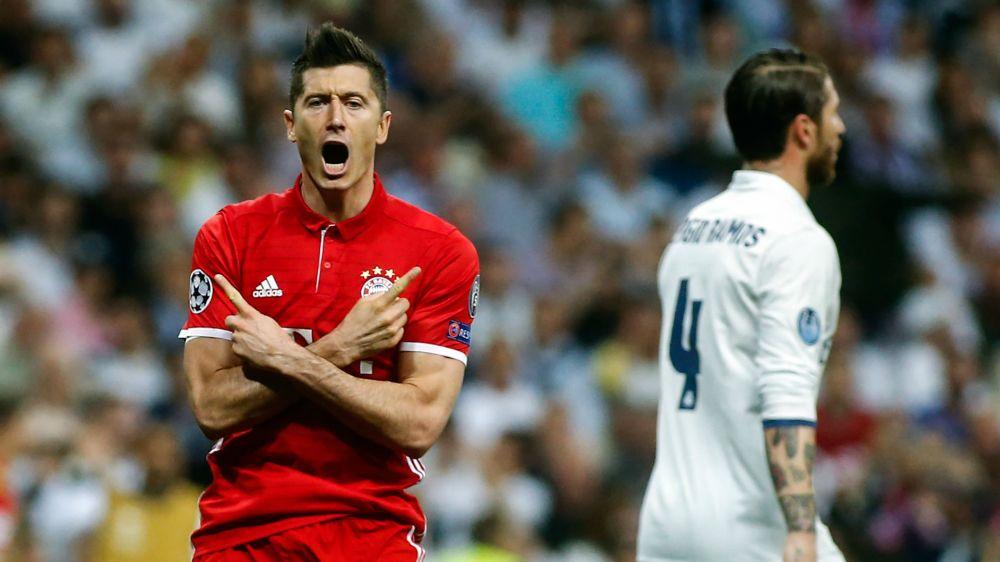 Lewandowski is Madrid's nemesis with Champions League record strike