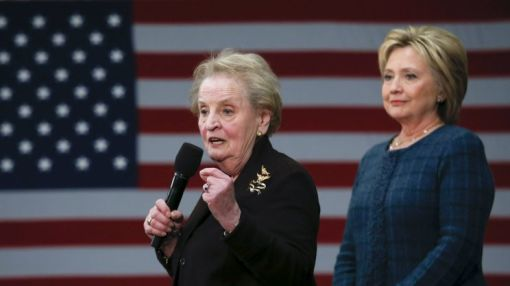 Madeleine Albright, thrilled that Hillary has made history, says she backs her because she's 'best' — not because she's a woman