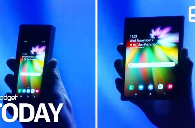 Samsung's foldable phone could cost over $1,700
