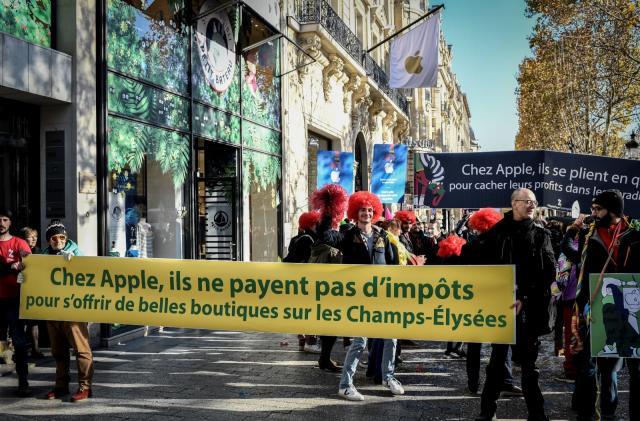 Apple will pay its $571 million tax bill in France