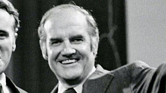 Former presidential candidate George McGovern dies