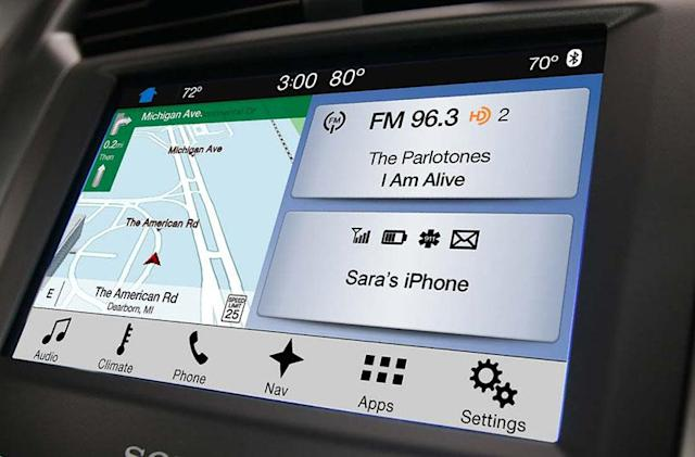 Ford drops Microsoft and revamps its Sync system for more speed