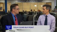 TSLA Clears Buy Point
