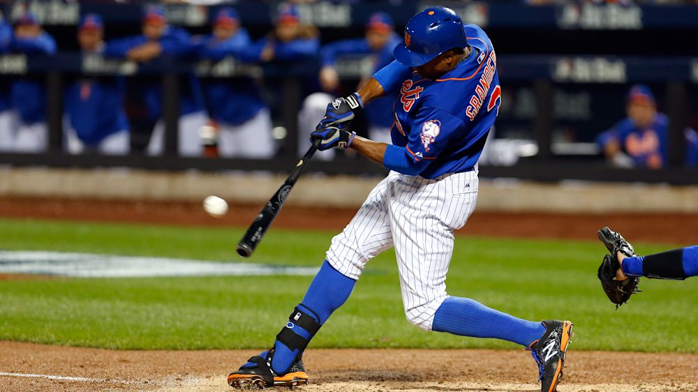 Curtis Granderson is the latest acquisition of the Dodgers. (AP)