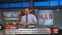 Baidu may be best way to play mobile in China: Cramer