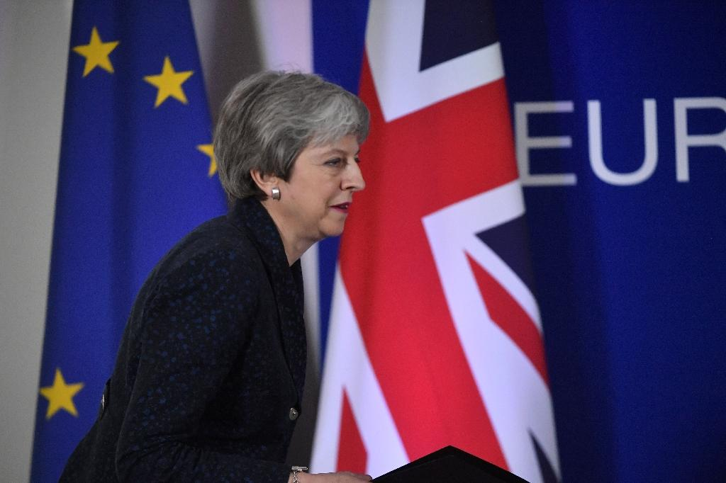 Next week could see MPs vote for a third time on May's unpopular withdrawal agreement (AFP Photo/EMMANUEL DUNAND)