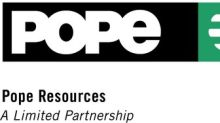 Pope Resources Reports Third Quarter Income Of $1.7 Million