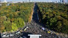 """""""Unteilbar""""-Demonstration in Berlin deutlich größer als erwartet"""