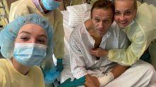 El opositor ruso Navalny dice que ya puede respirar sin ayuda