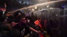 Thai police use water cannon against Bangkok protesters